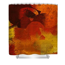 Geomix 05 - 02at02b Shower Curtain by Variance Collections