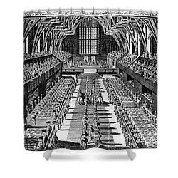 George IIi: Coronation, 1761 Shower Curtain by Granger