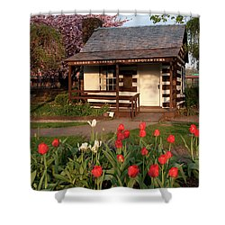 Shower Curtain featuring the photograph George Washington's House by Jeannette Hunt