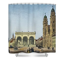 Germany: Munich, C1845 Shower Curtain by Granger