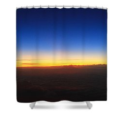 Getting Dark Shower Curtain by Catie Canetti