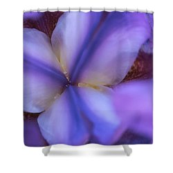 Getting Intimate With Iris Shower Curtain