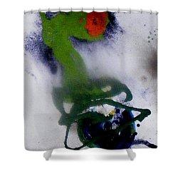 Ghost Flower Shower Curtain