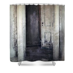 Ghost Girl In Hall Shower Curtain by Jill Battaglia