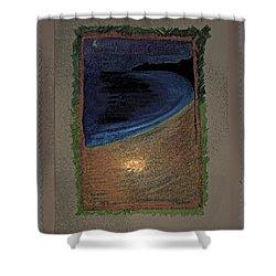 Ghost Stories Barra De Navidad Shower Curtain by First Star Art