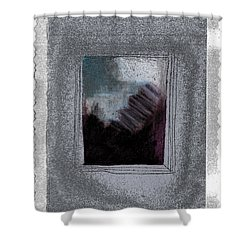 Ghost Stories The Argument Shower Curtain by First Star Art