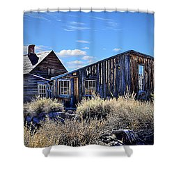 Ghost Town House Shower Curtain