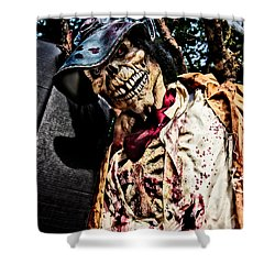 Ghoulie Shower Curtain by Christopher Holmes
