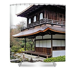 Ginkakuji Temple Shower Curtain