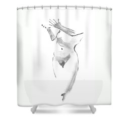 Give - Receive Shower Curtain