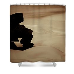 Given To The Luck Shower Curtain by Jerry Cordeiro