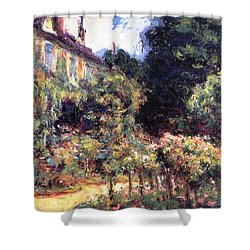 Giverny Shower Curtain by Claude Monet