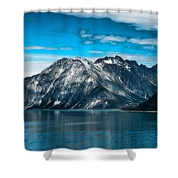 Glacier Bay Alaska Shower Curtain by Jon Berghoff