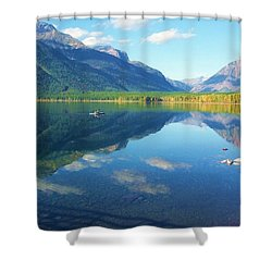 Glacier Park Magic Shower Curtain