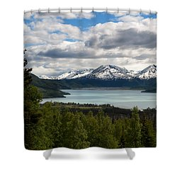 Glacier Water Shower Curtain