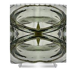 Glas Art Shower Curtain by Heiko Koehrer-Wagner