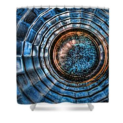 Glass Series 3 - The Time Tunnel Shower Curtain