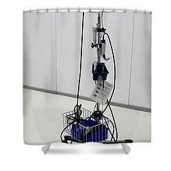 Glidescope Shower Curtain by Photo Researchers