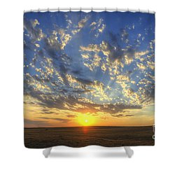 Glorious Sunrise Shower Curtain by Jim And Emily Bush