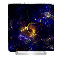 Glorious Univers Shower Curtain