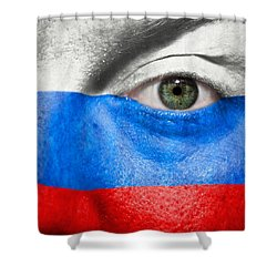 Go Russia Shower Curtain by Semmick Photo