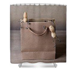 Going Shopping 02 Shower Curtain by Nailia Schwarz