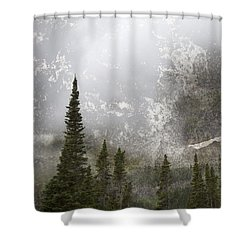 Going To The Sun Road Shower Curtain by John Stephens