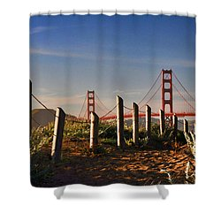Golden Gate Bridge - 2 Shower Curtain