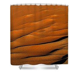 Golden Sand Shower Curtain