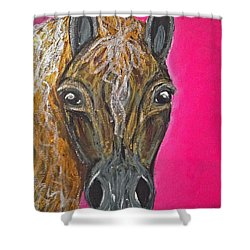 Goldie Shower Curtain by Ania M Milo