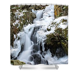 Goldmine Falls Shower Curtain