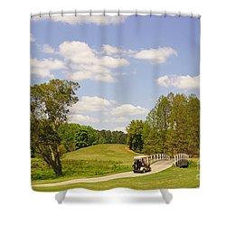 Golf At Calloway Gardens Shower Curtain