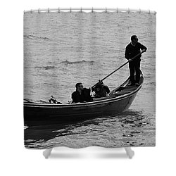 Shower Curtain featuring the photograph Gondola  by Eric Tressler