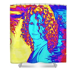 Gothic Beauty Shower Curtain by Renee Trenholm