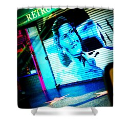 Grab A Star On Sunset Boulevard In Hollywood Shower Curtain by Susanne Van Hulst