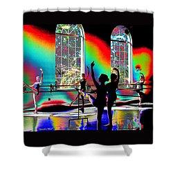 Graceful Glow Shower Curtain