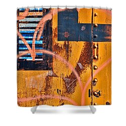 Graffiti Train Shower Curtain