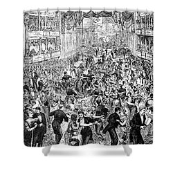Grand Ball, New York, 1877 Shower Curtain by Granger
