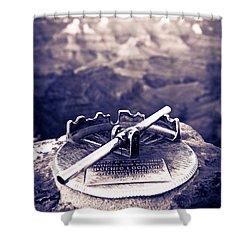 Grand Canyon - Sight Tube Shower Curtain by Scott Sawyer