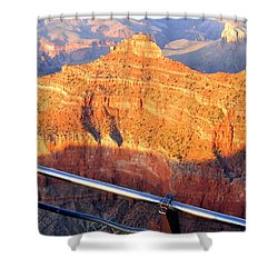 Grand Canyon 43 Shower Curtain by Will Borden
