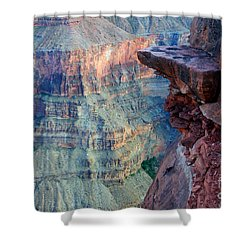 Grand Canyon A Place To Stand Shower Curtain by Bob Christopher