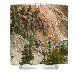 Grand Canyon And Yellowstone River Shower Curtain by Living Color Photography Lorraine Lynch