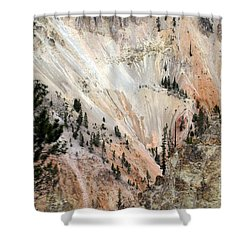 Grand Canyon Colors Of Yellowstone Shower Curtain by Living Color Photography Lorraine Lynch