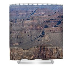 Grand Canyon From South Rim Shower Curtain by Tim Mulina