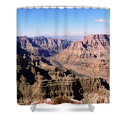 Shower Curtain featuring the photograph Grand Canyon by Lynn Bolt