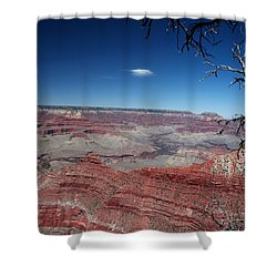 Shower Curtain featuring the photograph Grand Canyon Number Three by Lon Casler Bixby
