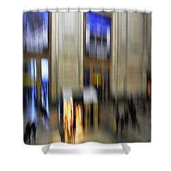 Shower Curtain featuring the photograph Grand Central Station Italian Style by Andy Prendy