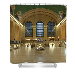 Grand Central Terminal I Shower Curtain by Clarence Holmes