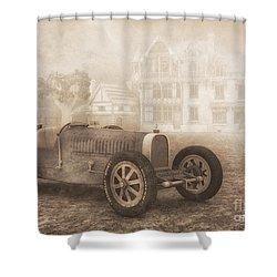 Grand Prix Racing Car 1926 Shower Curtain by Jutta Maria Pusl