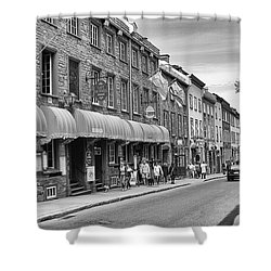 Grande Allee Shower Curtain by Eunice Gibb